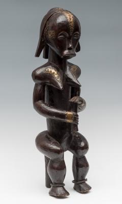 Guardián del relicario del pueblo Fang; Gabón, finales