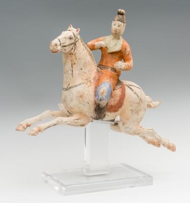 """Polo lady"". Dinastía Tang, China, 618-907 d."
