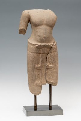 Deidad; Cultura Khmer, Camboya, periodo Angkor (965-1010 d.