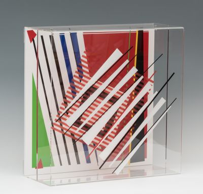 "PEDRO SANDOVAL ORTA (Venezuela, 1966).""Ambivalence III"" (Soto como Pretexto), 2018."