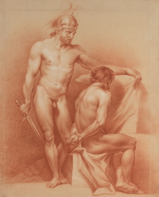 """""""Estudio de desnudos"""" Joaquín Sigüenza y  Chavarrieta"""