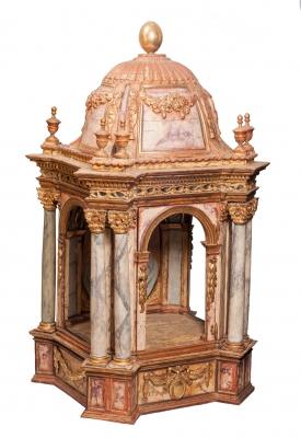 Hornacina; Época Carlos IV, finales del siglo XVIII.