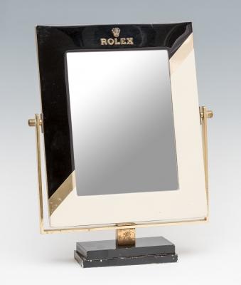 Espejo Rolex de mostrador, años 50.