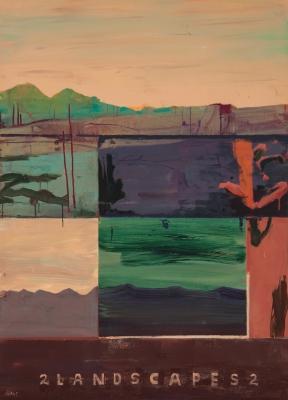"""2 Landscapes 2"", 1994. Juan Giralt"