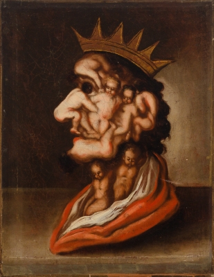 """El Rey"". Seguidor de Giuseppe Arcimboldo"