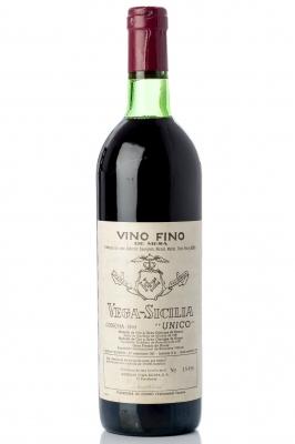 Vega Sicilia Único, 1965.Categoría: Vino tinto.