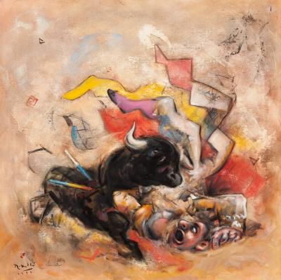 """""""Tauromakia"""", 1999. Josep María Roselló Virgili"""