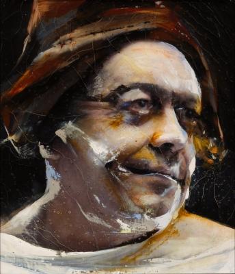 """Sancho Panza"", 2010. Lita Cabellut"
