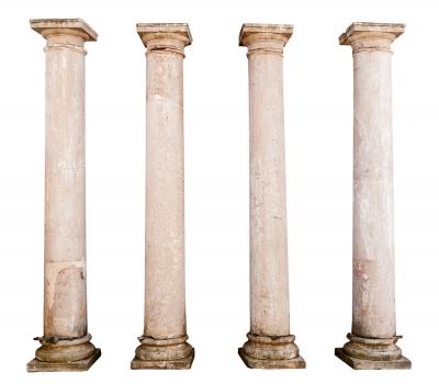 Conjunto de cuatro columnas; Jaén, siglo XVI.