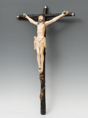 """Cristo Crucificado"" Escuela Hispano-filipina; finales..."