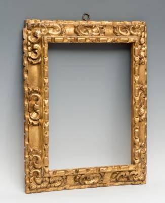 Marco; España, siglo XVII. Madera tallada y dorada