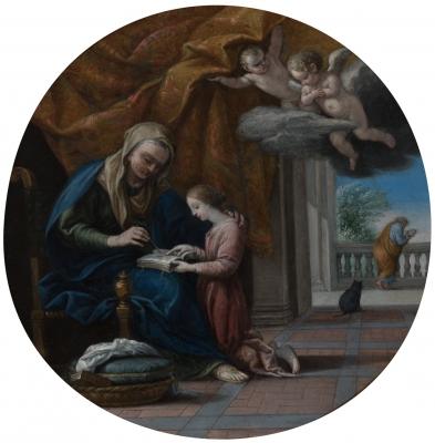 """""""Santa Ana con la Virgen"""""""