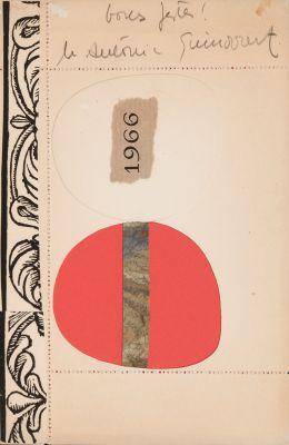"JOSEP GUINOVART (Barcelona, 1927 – 2007).""Bones festes!"", 1966."