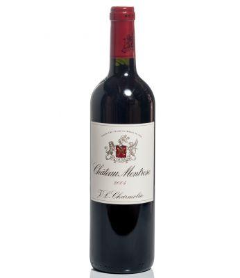 Una botella de Château Montrose, 2004.