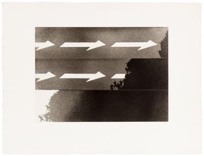 JUAN GENOVÉS (Valencia, 1930).Untitled, Single Direction series, 1970.