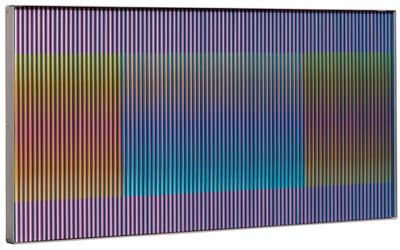 """Physichromie, nº 1040"", 1975. CARLOS CRUZ DIEZ"