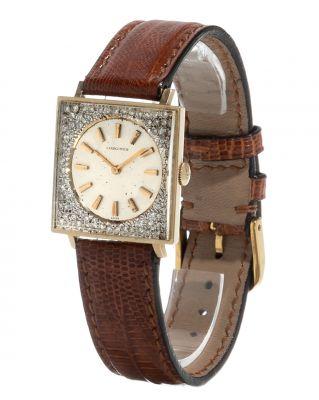 Reloj LONGINES, cadette, años 60. En oro amarillo de 14kts.