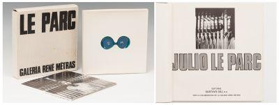 Book of Experiences JULIO LE PARC (Mendoza, Argentina, 1928).Box