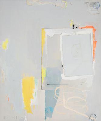 """Amarillo sobre espacio gris"", 2002. JOAQUÍN CAPA"