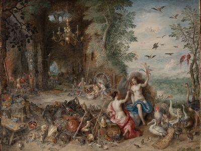JAN BRUEGHEL THE YOUNG (Antwerp, Belgium, 1601-1678). AND HENDRICK VAN BALEN (Antwerp, h.