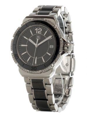 Reloj TAG HEUER Formula I Lady diamond- ceramic.Caja en acero, cerámica y brillantes.