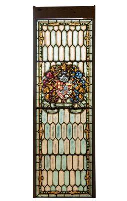 Gran vidriera; Madrid, finales del siglo XIX - siglo XX.