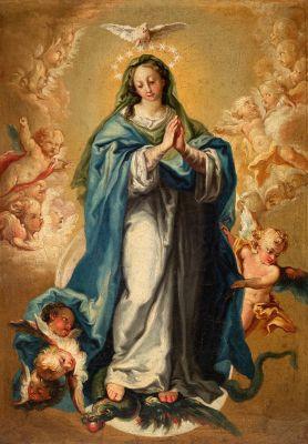 """""""Inmaculada Concepción"""". VICENTE LÓPEZ PORTAÑA"""
