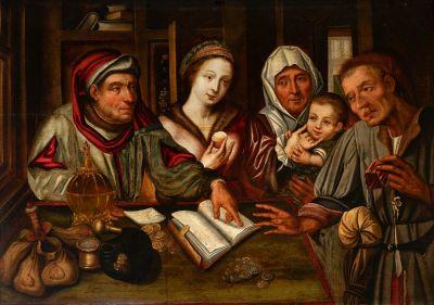 Antwerp School. JAN METSYS workshop (Antwerp, 1509 - 1575).