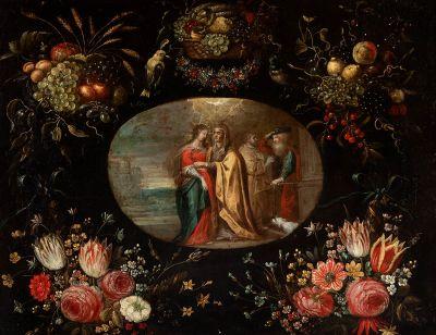 FRANS FRANCKEN III (Antwerp, Belgium, 1607 - 1667) and JAN BRUEGHEL THE YOUNG (Antwerp, Belgium, 1601 - 1678).