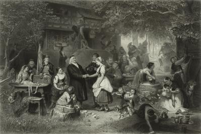German school; XIX century.