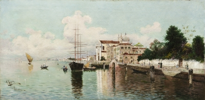 REYNA MANESCAU, Antonio (Coín, Málaga, 1859 – Roma, 1937).