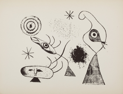 """The Prints of Joan Miró"" MIRÓ I FERRÀ, Joan"