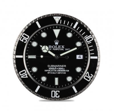 Reloj de pared, réplica del Rólex Oyster Perpetual Subm
