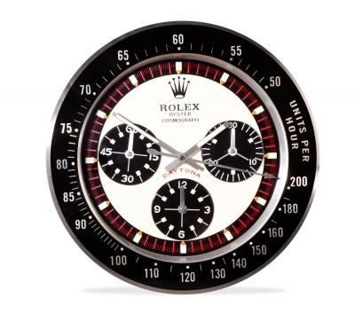 Réplica de pared del reloj Rólex Daytona. El Rólex Oy