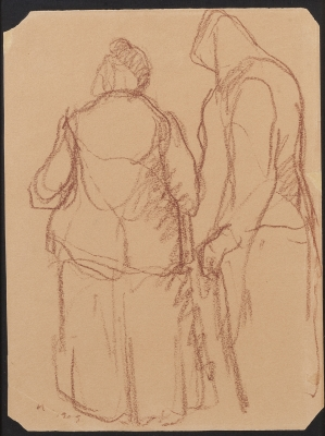 """Figuras"", 1909. NONELL I MONTURIOL, Isidre"