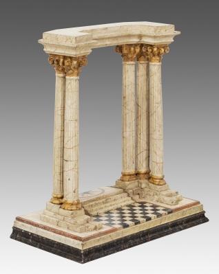 Templete. Italia, siglo XIX.