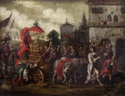 """""""El rey David y el arca de la Alianza"""" SION, Peeter"""