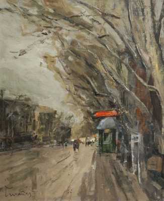 """""""Vista urbana"""". Josep  Cruañas FAges"""