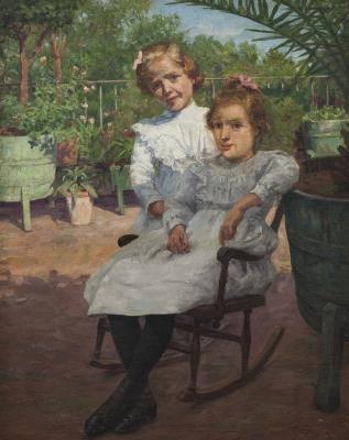 """""""Las sobrinas del pintor"""" YSERN ALIÉ, Pere"""