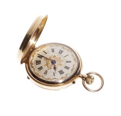 Reloj de bolsillo en oro de 18 kts.