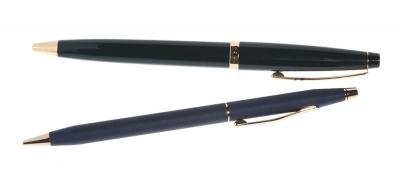 Lápiz punta fina y bolígrafo CROSS, nuevos a estrenar.