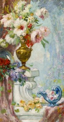 """""""Florero"""", ca. 1880. Jacques Martin"""