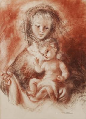 """""""Maternidad"""". BARTA PRATS, Montserrat"""