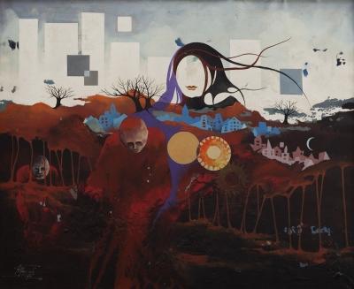 """""""Homenatge a Ramda"""", 1973.  JORDÀ, Ricardo"""