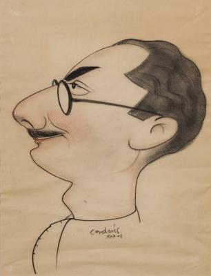 """Personaje"", 1936. CERDANS REGUANT, Josep"