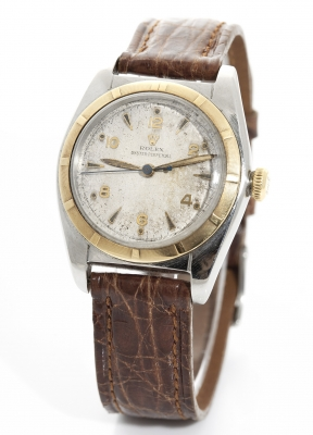 Reloj ROLEX Oyster perpetual, para caballero, vintage, en acero y oro.