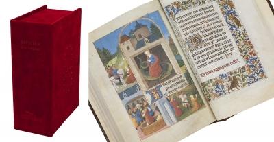"""Libro de horas """"de los retablos"""" o Misal de Fernández d"""