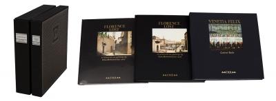 """Conjunto de tres libros: """"Florence Lost."""
