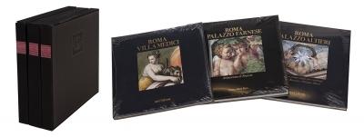 "Conjunto de tres libros: ""Roma Villa Medici""; ""Roma Pal"