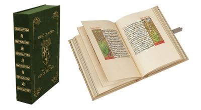 Facsímil del Libro de Horas de la reina Ana de Bretaña, ms.